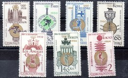 Serie De Checoslovaquia N ºYvert 1388/94 (**) - Tschechoslowakei/CSSR