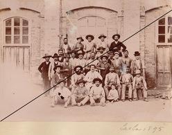Foto Espana Espagne 1894 Grupo Fabrica Lachar Granada Andalucia Album El Duque De San Pedro De Galatino Azucarera - Luoghi
