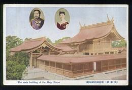 TOKYO - The Main Building Of The Meiji Shrine - IMPERATORE MEIJI IMPERATRICE SHOKEN ? - Tokyo