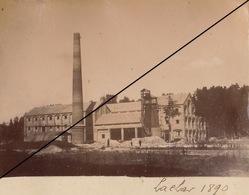 Foto Espana Espagne 1890 Construccion Fabrica Lachar Granada Andalucia Album El Duque De San Pedro De Galatino Azucarera - Lieux