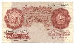 Great Britain , 10 Shillings, P-368. F. - …-1952 : Before Elizabeth II