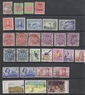 Lot De Timbres Oblitérés, Neufs Charnières Et Neuf Sans Gomme - Collections