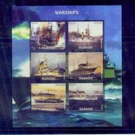 Uganda / 2016 Warships S/s. /MNH.good Condition - Ships