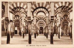 CPA CORDOBA - MEZQUITA INTERIOR - Córdoba