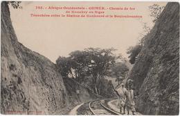 Guinée - Chemin De Fer De Konakry Au Niger - Tranchées Entre La Station De Konkouré Et Le Bouloukountou - & Railway - Guinea