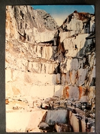(FG.C35) CARRARA - CAVE DI MARMO Animata (MASSA CARRARA) Viaggiata 1969 - Carrara
