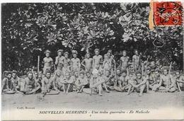 CPA Nouvelles Hébrides Circulé Type Ile Malicolo - Postcards