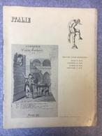 Theatre Sarah Bernhardt Commedie Di Carlo Goldoni 1827 Italie - Programmi