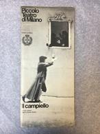 Piccolo Teatro Di Milano II Campiello De Carlo Goldoni - Programmi