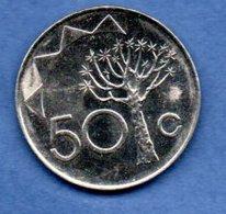 Namibie -  50 Cents 1993 - Km # 3  - état SUP - Namibie