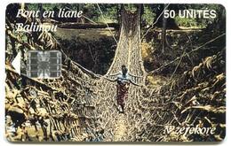 GN-SOT-0013A - Pont En Liane (Old Schlumberger Logo) - Guinea
