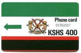 "KEN-10A - K.P.T.C. Logo & No Notch - Green Arrow (With ""T"") - Kenya"