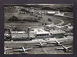 CPSM SUISSE - ZURICH - Flughafen Kloten - SUPERBE PLAN Aéroport Avec Plusieurs AVIONS - Aerodrome