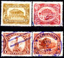 Guatemala-0088 - Emissione 1924 (+/o) Hinged/Used - - Guatemala