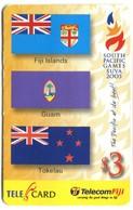 "FIJ-R-145 - South Pacific Games ""Fiji, Guam, Tokelau"" - Fiji"