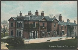 Ruskin Museum, Sheffield, Yorkshire, C.1905 - Scott Russell & Co Postcard - Sheffield