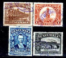 Guatemala-0090 - Emissione 1924 (o) Used - - Guatemala