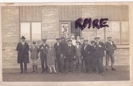 CARTE PHOTO,BELGIQUE,BELGIUM,BELGIEN,BELGIE,BELGICA,FLANDERN,ACCORD MILITAIRE FRANCO BELGE 1920,aide Aux Gazés De Guerre - Bierbeek