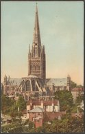 Norwich Cathedral, Norfolk, C.1905-10 - Great Northern Railway Postcard - Norwich