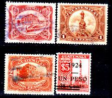 Guatemala-0091 - Emissione 1924 (+/o) Hinged/Used - - Guatemala