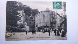 Carte Postale (F1) Ancienne De Annonay ,rond Point Du Boulevard De La République - Annonay