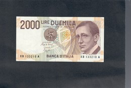 2000 Lire Marconi Serie Sostitutiva Xb 1992 Sup LOTTO 1782 - [ 2] 1946-… : Republiek