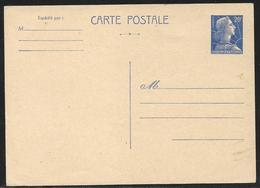 Entier Postal Carte Postale 20 F Marianne De Muller Neuve - 1955- Marianne De Muller