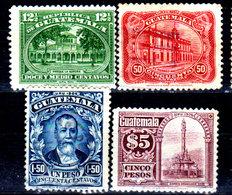 Guatemala-0093 - Emissione 1926 (+/sg/o) Hinged/NG/Used - - Guatemala