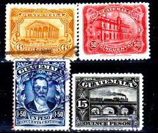 Guatemala-0094 - Emissione 1926 (+/o) Hinged/Used - - Guatemala