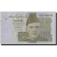 Billet, Pakistan, 5 Rupees, 2008, KM:53a, TB+ - Pakistan