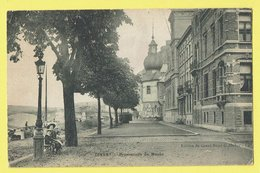 * Dinant (Namur - Namen - La Wallonie) * (Edition Du Grand Bazar G. Hubin) Promenade De Meuse, Animée, Pont, Quai Bateau - Dinant