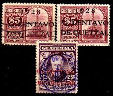 Guatemala-0097 - Emissione 1927-1929 (o) Used - - Guatemala