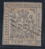 ITALIA/MODENA 1859 - Yvert #8a - VFU - Modena