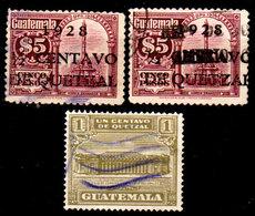 Guatemala-0098 - Emissione 1927-1929 (o) Used - - Guatemala