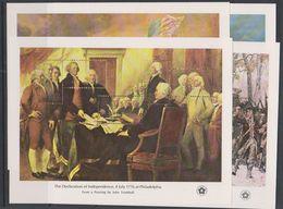 USA 1976 Bicentennial 4 M/s ** Mnh (F7191) - Blokken & Velletjes