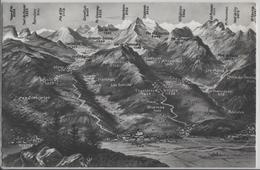 Aigle, Yvorne, Corbeyrier, Huemoz - Panorama - Photo: Marcel Rouge - VD Vaud
