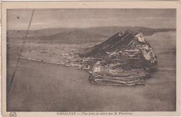 Gibraltar  Vue Prise En Avion Par Mr Flandrin - Gibraltar