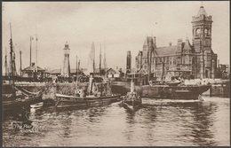 The Pier Head, Cardiff, Glamorgan, 1917 - Philco Postcard - Glamorgan