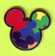 Pin's BD Disney Mickey Tête - 4M27 - Disney