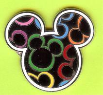 Pin's BD Disney Mickey Tête - 4M29 - Disney