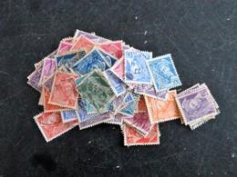 PETIT LOT VRAC TYPE MERCURE OBLITERES POUR ETUDE ET RECHERCHE VARIETES - 1938-42 Mercure