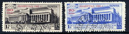SOVIET UNION 1933 Leningrad Philatelic Exhibition, Used.  Michel 427-28 - 1923-1991 USSR
