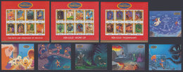 GRENADA 1997 - Disney Hercules II - Mi 3677-3700 + B487-492; CV=48 € - Mythologie