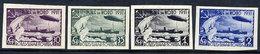 SOVIET UNION 1931 Polar Flight Imperforate Set.  Michel 402-05B - Unused Stamps