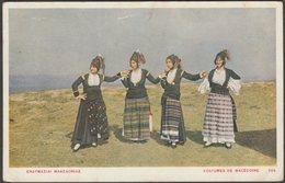 Ενδυμασίες Μακεδονίας, C.1905-10 - Γ Ἀθπιώτη Κάρτα - Greece