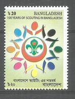 BANGLADESH STAMP 100 YEARS OF SCOUTING IN BANGLADESH MNH - Bangladesch