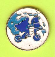 Pin's BD E.T. Cycliste - 7M23 - Radsport