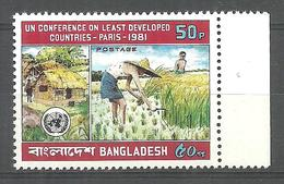 BANGLADESH STAMP 1981 UN CONFERENCE IN PARIS MNH - Bangladesh