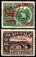 Guatemala-0102 - Emissione 1929-1930 (+/o) Hinged/Used - - Guatemala