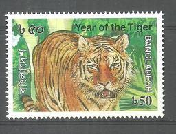 BANGLADESH STAMP YEAR OF THE TIGER MNH - Bangladesh